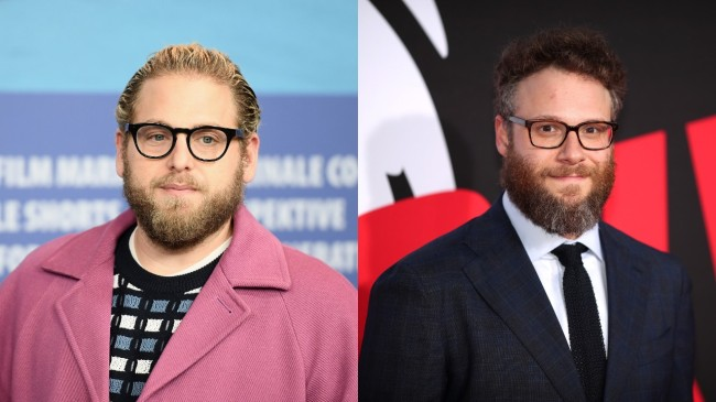 hill and rogen