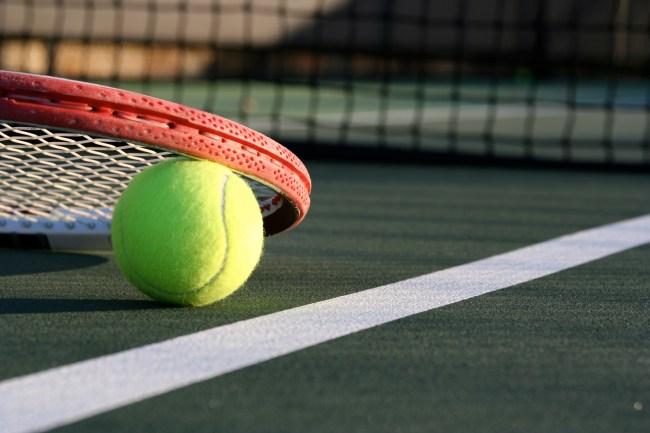 tennisi racket and tennis ball