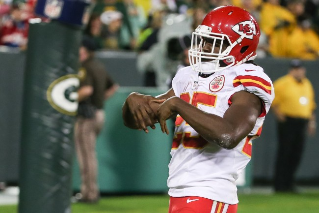 Jamaal Charles claims he nearly fought former Chiefs teammate Larry Johnson with a helmet over rookie hazing
