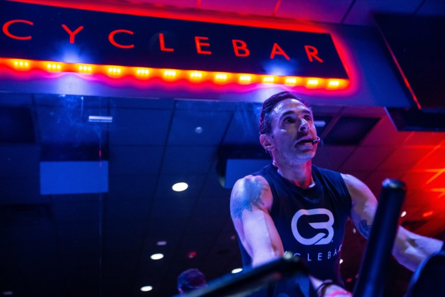 Jesse Alexander of CycleBar master instructor indoor cycling