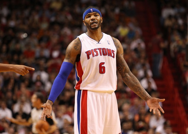 Josh Smith's still earning $5.3 million from the Detroit Pistons even though he hasn't played for them in five years