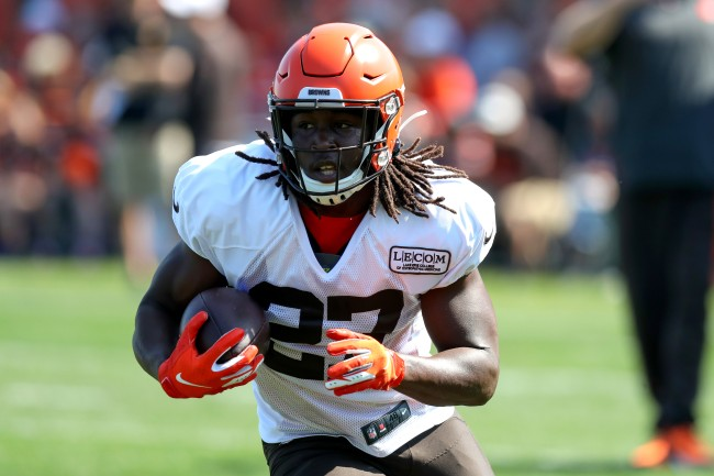 Kareem Hunt Begins Practicing With The Cleveland Browns Reactions