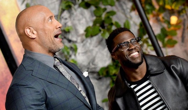 Kevin Harts The Rock Halloween Costume Trolling His Buddy