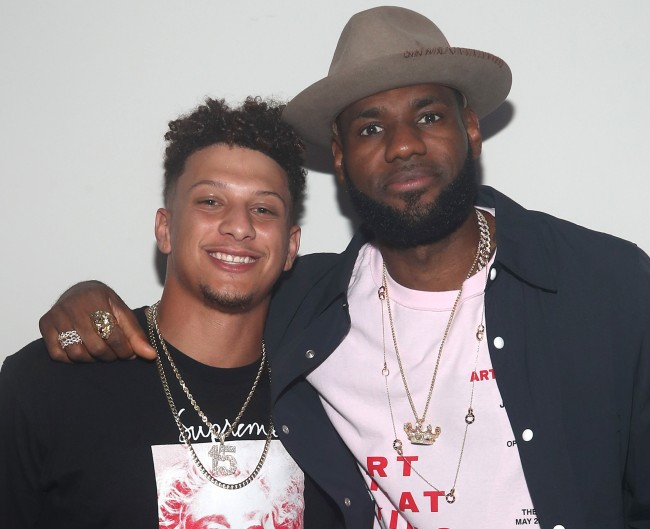 LeBron James got blasted by Twitter after simply posting about Patrick Mahomes' knee injury