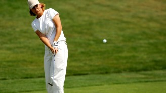 Professional Golfer Lee Ann Walker Assessed 58 Penalty Strokes At This Week's Senior LPGA Championship