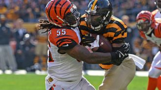 Le'Veon Bell Rightfully Called Out Vontaze Burfict For Being The Piece Of Human Garbage That He Is