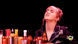 Maisie Williams Did The 'Hot Ones' Challenge, Shivered Uncontrollably While Sharing 'GoT' Secrets,