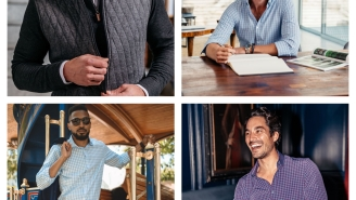 VESTS, QUARTER-ZIPS, AND BLAZERS: Upgrade Your Fall Style With Mizzen+Main