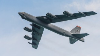 This New In-Flight Video Of A B-52 Bomber On A Secret Nuclear Mission Training Run Is Epic