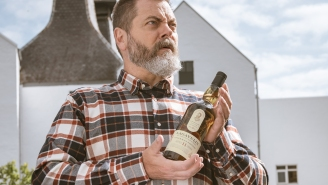 Nick Offerman Debuts His Very Own Lagavulin Islay Single Malt Scotch Whisky Aged 11 Years
