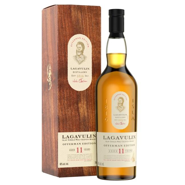 Nick Offerman Edition Lagavulin Islay Scotch Whiskey 11 Years Single Malt