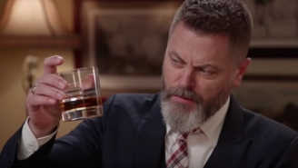Nick Offerman Answers 'Three Ridiculous Questions' Including His Best Advice For Any Aspiring Rappers Out There