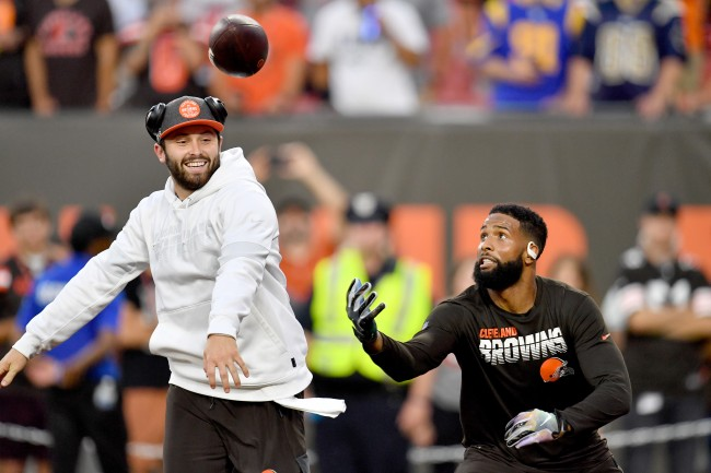 Odell Beckham Jr. defends Baker Mayfield and says blame isn't all on the second-year quarterback