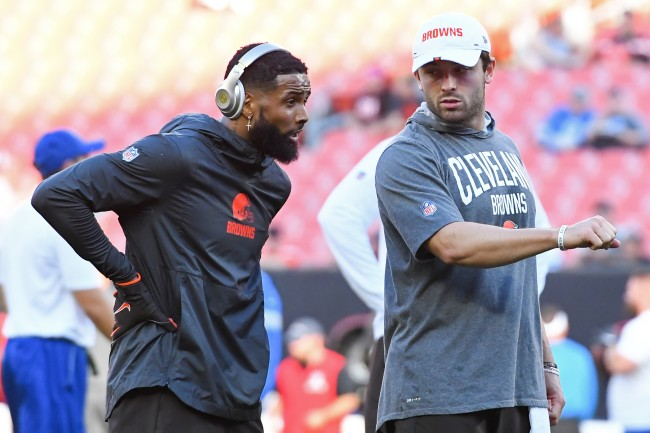 Odell Beckham Jr. challenges the doubters and haters to keep questioning Baker Mayfield