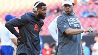 Odell Beckham Jr. Dares Haters To Keep Talking Crap About Baker Mayfield