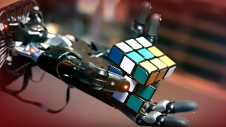 Robots Can Now Solve A Rubik's Cube, One-Handed, In Their Latest Step Towards Becoming Our New Overlords