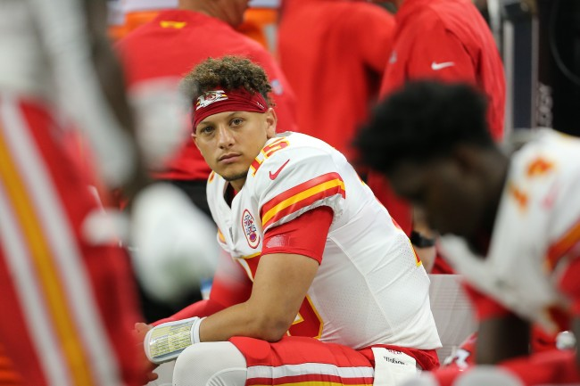 Patrick Mahomes explains why he looked back at the ref during a scrambling play against the Colts