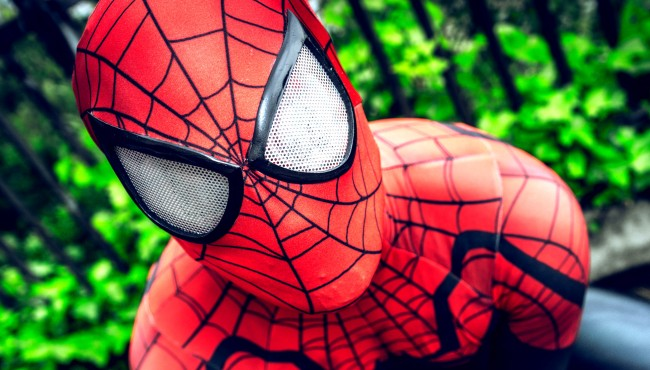 People In Spider-Man Costumes Invaded University Of North Carolina Library