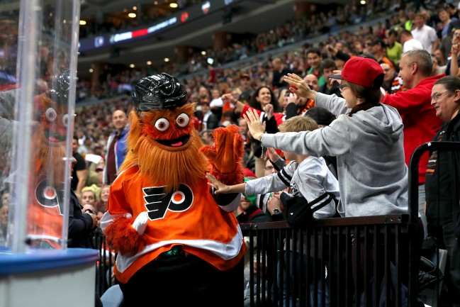 The Philadelphia Flyers created a rage room for frustrated fans to take their anger out in