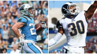 Todd Gurley's Response To Christian McCaffrey's Stats Dominating His This Season Is Respectable