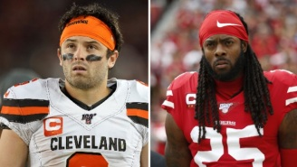Richard Sherman Blasts Baker Mayfield For Not Shaking Hands With Niners Players During Coin Toss, Wants Baker To 'Grow Up' And 'Respect The Game'