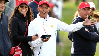 Rickie Fowler And Allison Stokke Got Secretly Married Last Week, Check Out Photos From Their Beach Ceremony