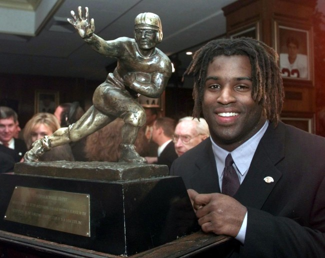 Ricky Williams' 1998 Heisman Trophy is up for auction and could fetch a record $500,000