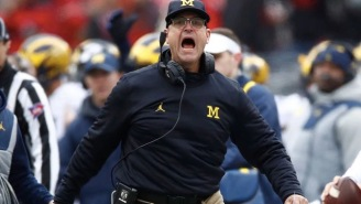 Jim Harbaugh Is Reportedly Thinking About Getting The Hell Out Of Michigan And Heading Back To The NFL