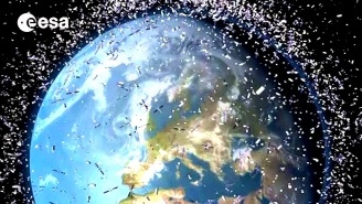 There Is So Much Junk Floating Around Earth We May Not Be Able To Travel Into Space In The Future