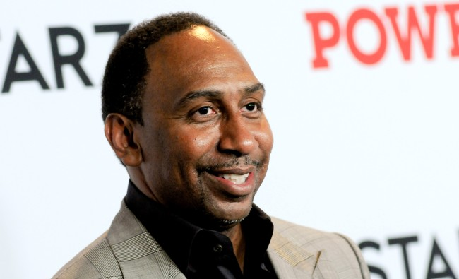 Stephen A Smith In Trouble For Photo Caption Of Clemson Cheerleaders