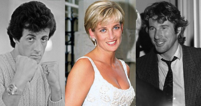 Sylvester Stallone Almost Fought Richard Gere Over Princess Diana