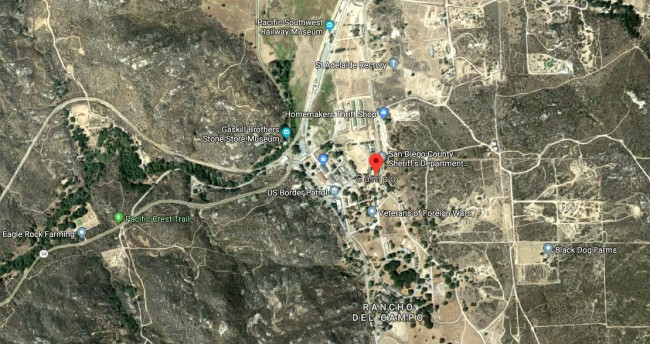 The Town Of Campo California Is For Sale For Just 5 To 6 Million