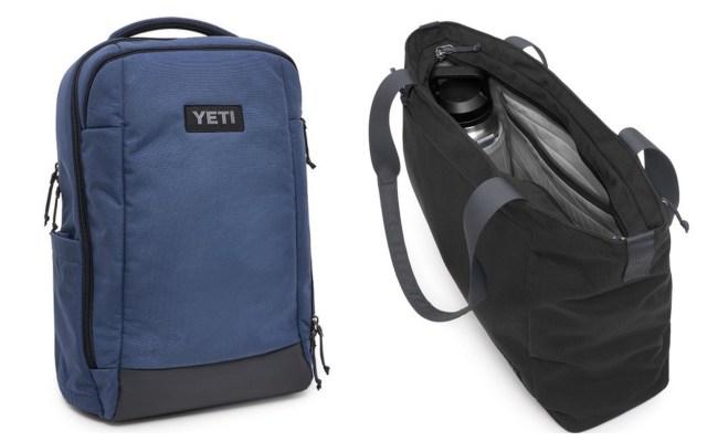 YETI crossroads backpack and tote