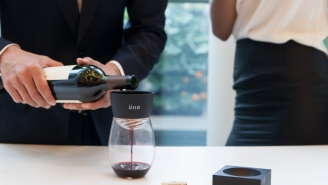 The Ullo Wine Purifier Will Turn A Good Glass Of Wine Into A Great One