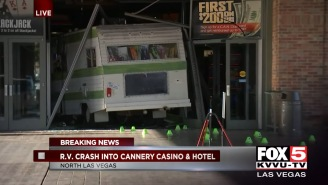 Woman Kicked Out Of Casino Drives Her RV Straight Into The Building, Because That's A Reasonable Response