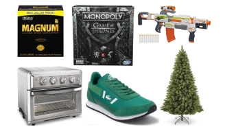 Daily Deals: Nerf Guns, Board Games, Magnum Condoms, Lacoste Sneakers, Christmas Trees, Nike Sale, Clear The Rack Clearance And More!