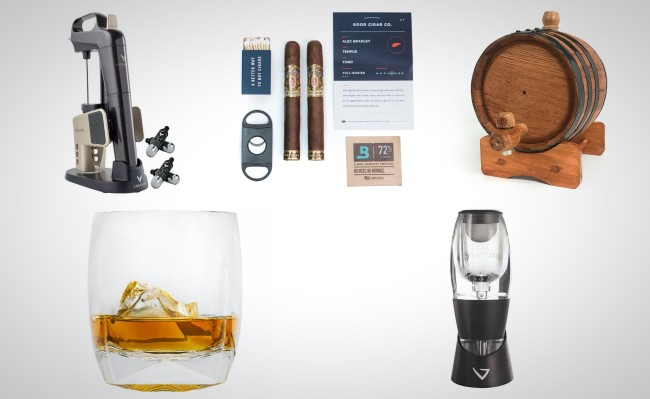 2019 best holiday gift ideas for men alcohol accessories