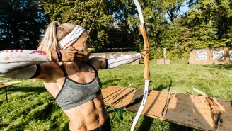 The Brutal 'Conquer The Castle' Obstacle Race Is Inspired By Savage Medieval Battles With Fire And Archery