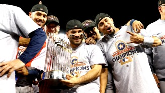 In Light Of Sign-Stealing Allegations, The Astros' Home And Road Batting Splits From The 2017 Postseason Are Stunningly Lopsided