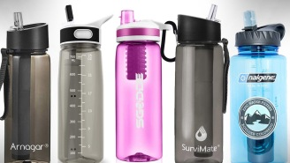 These 12 Best Filtered Water Bottles Will Help You, And The Environment, Be More Healthy