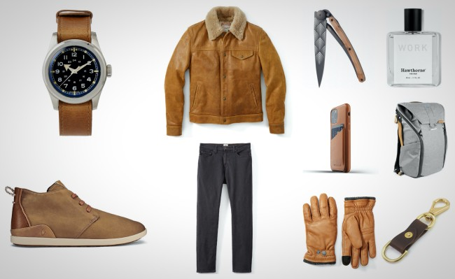 best leather everyday carry gear for men