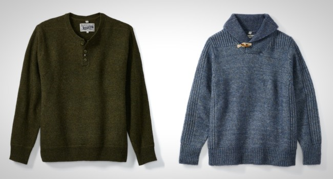 best men's sweaters Fall 2019 and Winter 2020