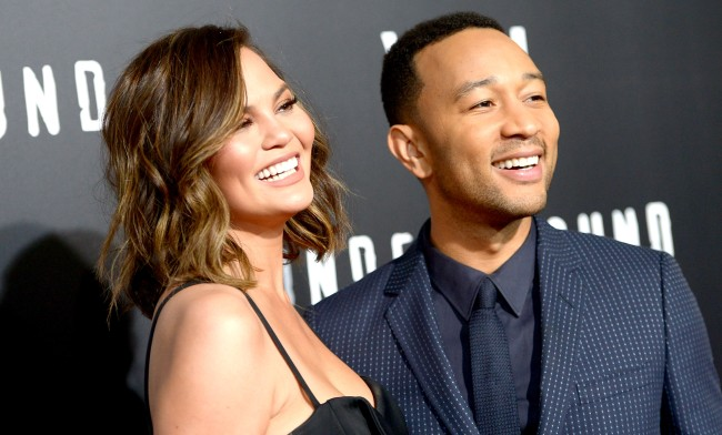Chrissy Teigen Jokes About Her Husband Being Named Sexiest Man Alive