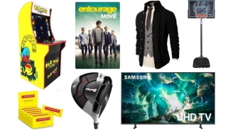 Daily Deals: 'Entourage' Movie, Up To $400 Off Golf Clubs, Giant Snickers Bar, Kenneth Cole Suits, Under Armour Sale And More!
