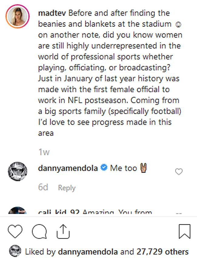 Danny Amendola Deal Or No Deal Model Madi Teeuws