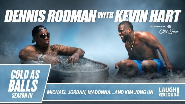Dennis Rodman On Cold as Balls Talking Jordan Madonna More