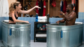 Erin Andrews Joined Kevin Hart On 'Cold As Balls' And He Made Her Laugh So Hard She Almost Peed In The Tub