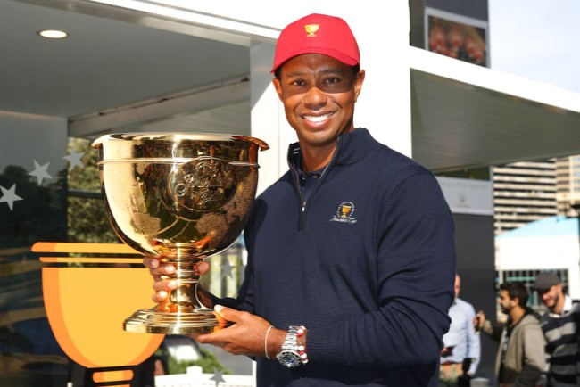 tiger woods presidents cup