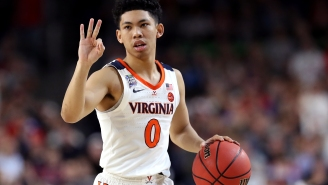 UVA Fan Gets PG Kihei Clark's Name Tattooed On His Chest After National Championship Bet