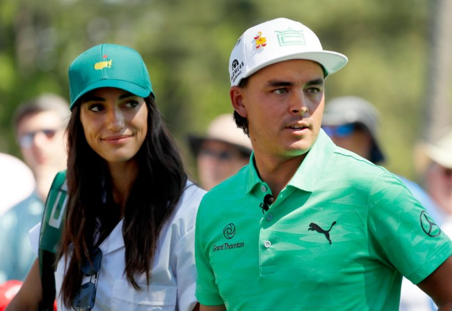 rickie fowler bacterial infection honeymoon